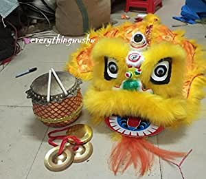 Premium Kids Sized Lion Dance Equipment 4 Pieces as a Set Hot Sales!