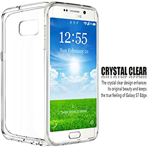 Galaxy S7 Edge Case, KingAcc Clear Air Cushion Shock Absorbing Case for Samsung Galaxy S7 Edge Sales