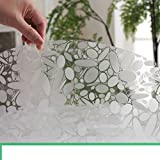 Round Tablecloth/Pvc Waterproof Table Cloth/Soft-proof Glass Table Mat/ Plastic Tablecloths-G diameter90cm(35inch)
