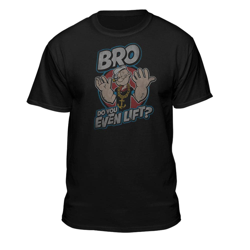 Popeye The Sailor Man Bro Do You Even Lift T Shirt