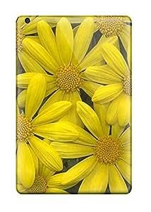 ZippyDoritEduard Ipad Mini/mini 2 Hybrid Tpu Case Cover Silicon Bumper Yellow Flowers