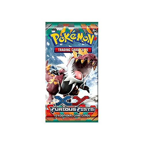10 Card Booster Pack (Pokemon Cards - XY Furious Fists - Booster Pack (10 cards))