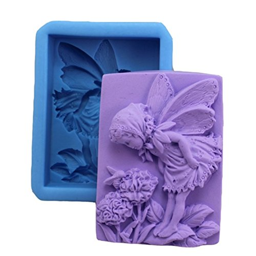 young-fairy-smelling-the-flowers-silicone-soap-bar-mold