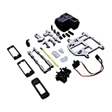 TOP SPEED RC WORLD Steering System With Plastic Battery Case Set Upgrade For Hpi Baja 5B 5T 5SC