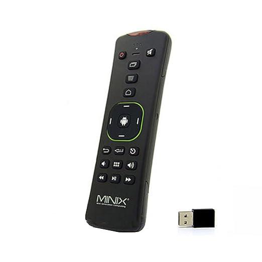 "14 opinioni per MINIX A2 Lite 2.4GHz Mini Double-sided Wireless ""Qwerty"" Keyboard Remote"