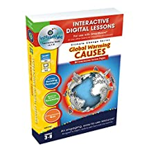 Global Warming Causes, Grades 3-8: Interactive Digital Lessons [With User Guide]