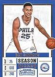 #3: 2017-18 Panini Contenders Drafts Picks Season Ticket Variation #3 Ben Simmons Philadelphia 76ers Basketball Card