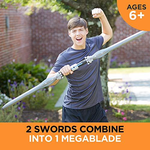 Vendetta Nerf N-Force Double Sword Toy -- Includes 2 Nerf Foam Blades with Plastic Core -- for Kids, Teens, Adults (Amazon Exclusive)