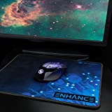 ENHANCE Wireless Gaming Mouse with 3500 DPI , Precision Optical Sensor , Ergonomic Profile , Multi-Color LED Design for Dota 2 , League of Legends , World of Warcraft: Legion , Battlefield 1 and More