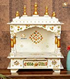 Kamdhenu Art And Craft Wooden / Home Temple/ Pooja Mandir/ Mandap for Home