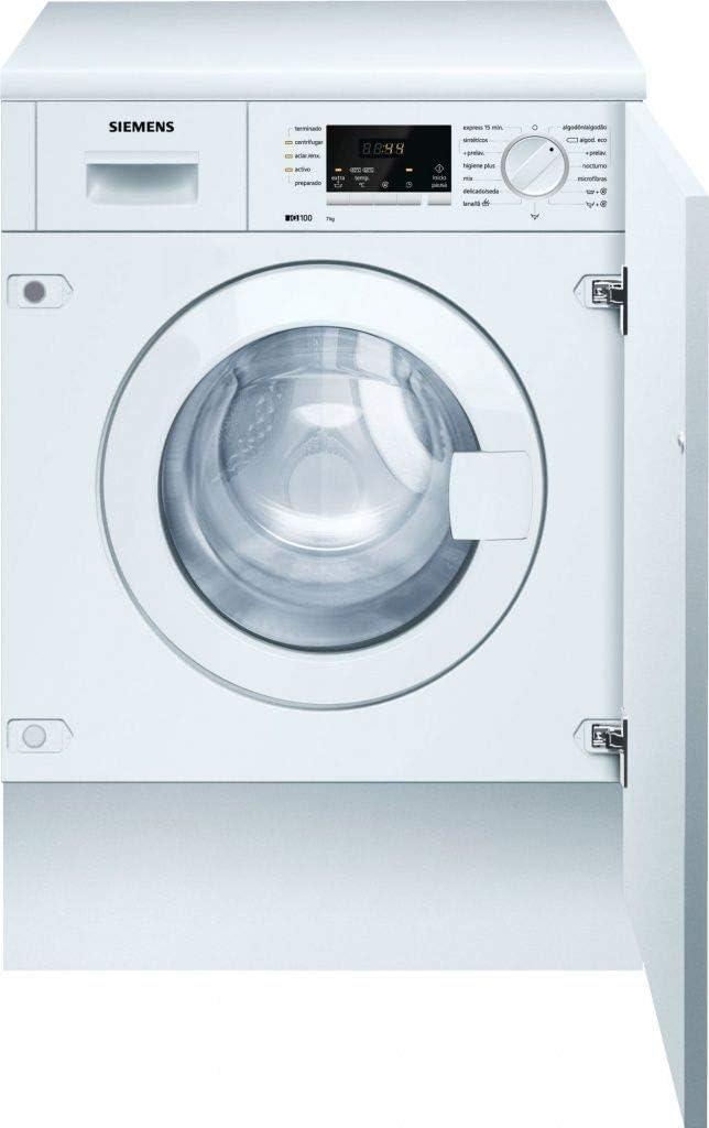 Siemens iQ100 WI12A222ES Integrado Carga frontal 7kg 1200RPM A++ ...