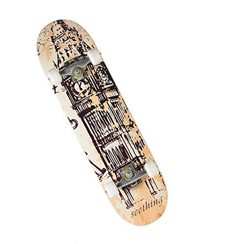 chaokele Vintage Style Maple Deck Standard Skateboard Big