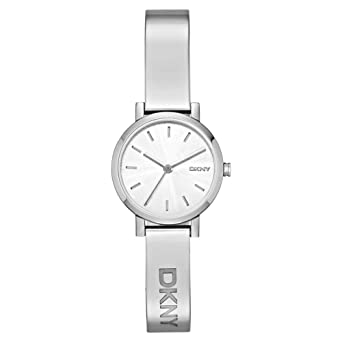 DKNY NY2306 Ladies Soho Silver Tone Watch