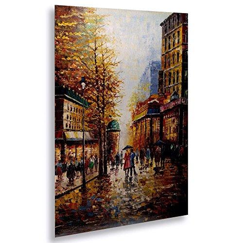 Scene Decor Street (Trademark Fine Art 75-JP561-1622M French Scene Street Wall Decor)