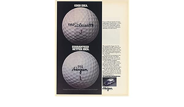 2hogan 392 ls golf balls