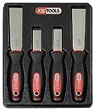KS Tools 907.221 Chisel Scraper Set, 4 Pieces by KS Tools