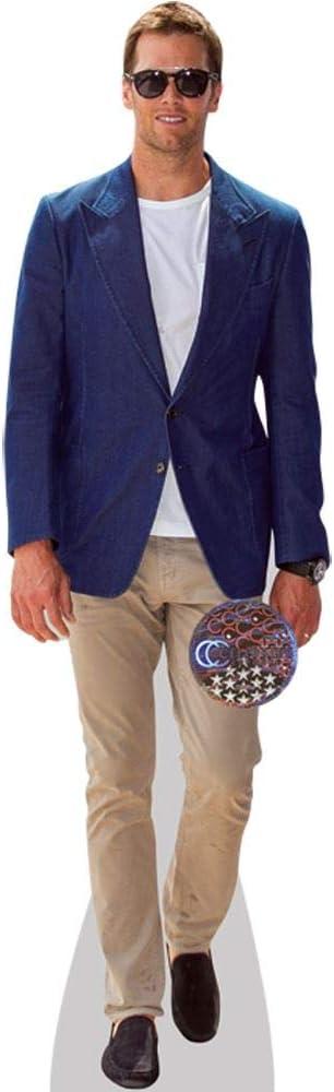 Life Size Cutout Tom Brady Blue Jacket Home Dcor Home Dcor ...