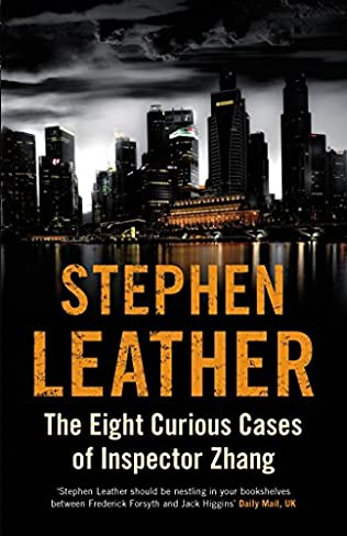 book cover of The Eight Curious Cases of Inspector Zhang