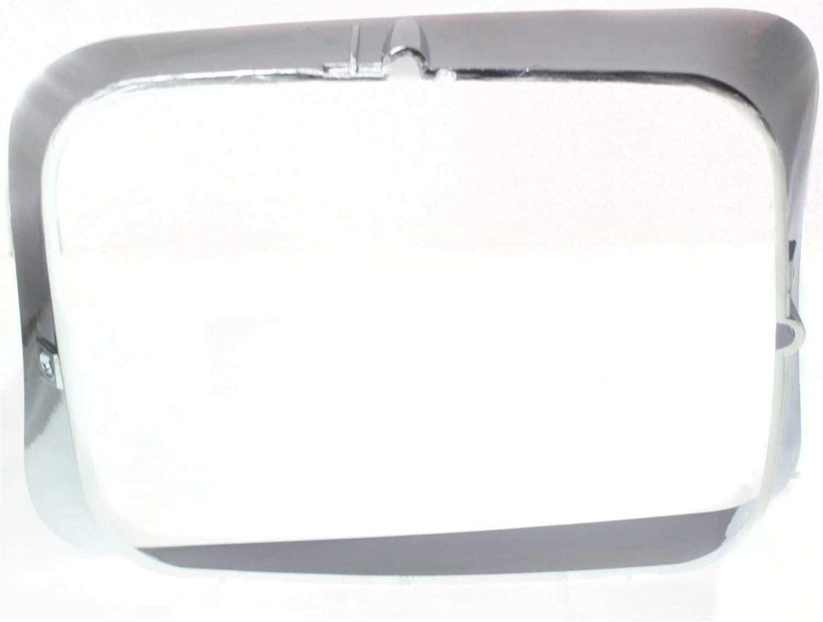 OE Replacement New LH Driver Side Chrome Headlight Bezel Trim Direct Replacement for 1992-1993 Dodge D150 D250 D350 Truck W150 W250 W350 Ramcharger Partslink Number CH2512118