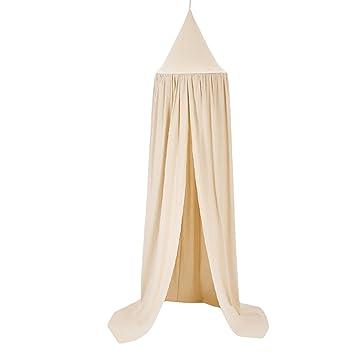 0Miaxudh Mosquitera, decoración de la habitación del bebé de 240 cm, Cortina de la