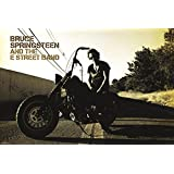 Bruce Springsteen Motorcycle Poster - 36x24