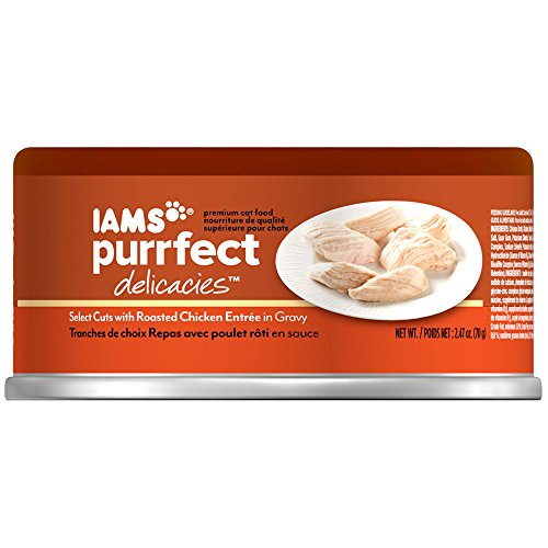 Iams PURRFECT DELICACIES Select Cuts With Roasted Chicken We