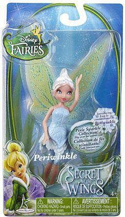 - Disney Fairies Secret of the Wings Pixie Sparkle Collection Action Figure Periwinkle