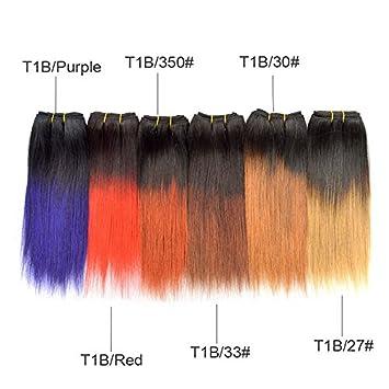 Amazon 8 inch brazilian straight hair weave short ombre bobs 8 inch brazilian straight hair weave short ombre bobs weaves t1bpurple red 350 pmusecretfo Images