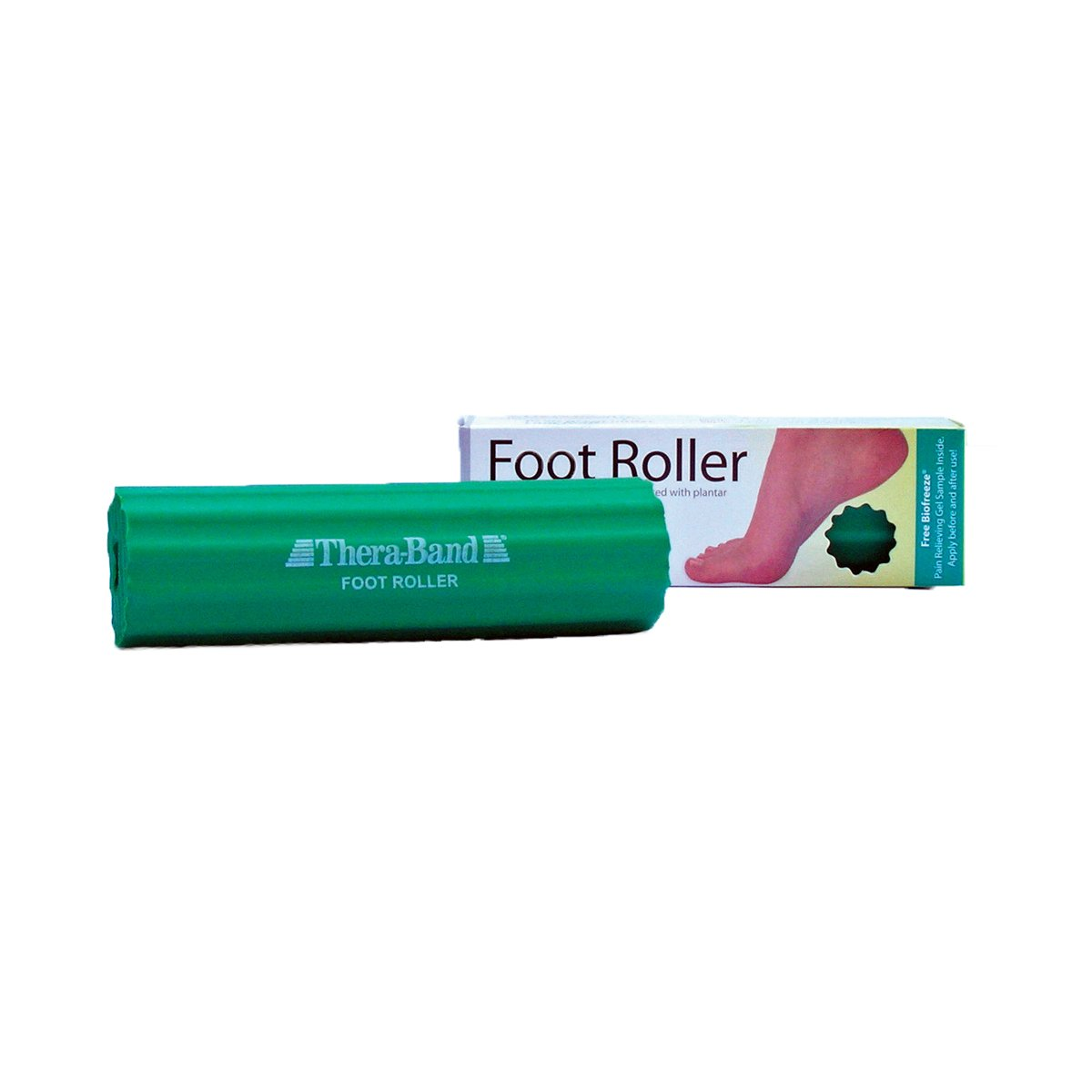 amazon com theraband foot roller for foot pain relief massage