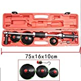 Air Vacuum Dent Puller Handle pump suction cups dent puller slide hammer with 3 Pads Puller kit PDR tools