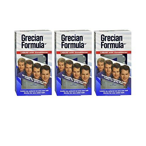 Grecian Formula 16 Liquid - GRECIAN Formula 16 Liquid With Conditioner 8 oz (3 pack)