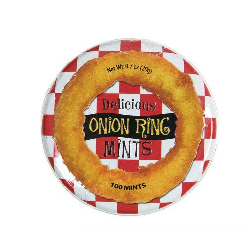 white elephant gift Onion Ring Mints