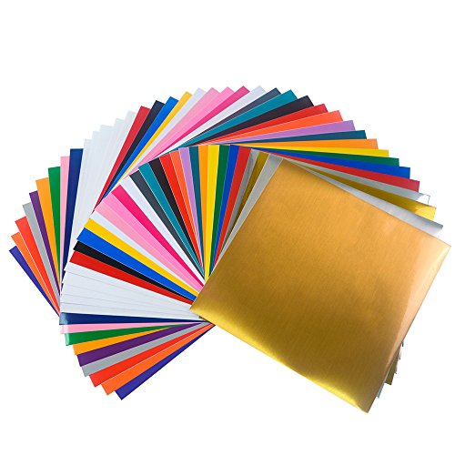 Vinyl frog 12 x12 permanent assorted colors 38 sheets for Vinyl sheets for crafts
