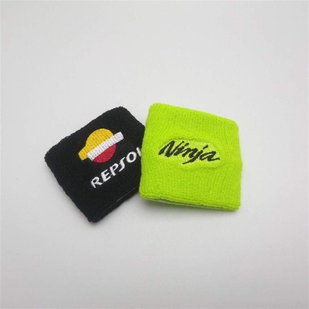Bremsfl/üssigkeitsbeh/älter Socken-/Öl-fl/üssige Beh/älter-Abdeckung Sleeve for Ninja ZX-6R ZX7R ZX9R ZX10R ZX12R ZX14R Color : 1 Piece