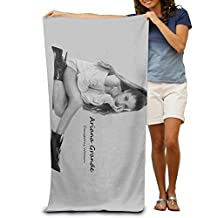 Cupass Adult Ariana Grande Beach Towel One Size 80cm130cm White
