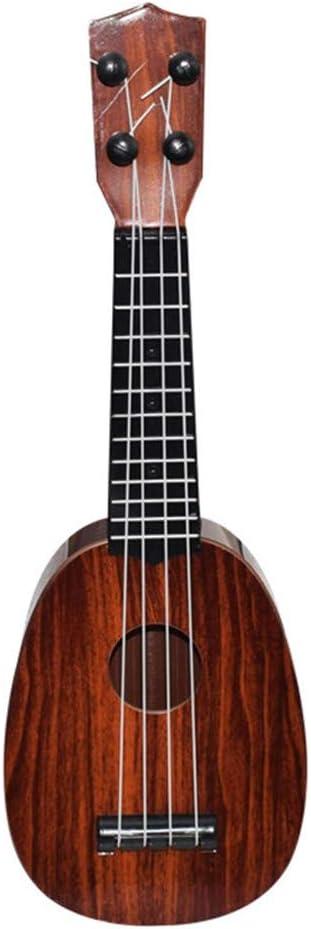 Vaycally Principiante Guitarra ukelele cl/ásica Instrumento musical educativo Juguete para ni/ños Rompecabezas Juguete Juguetes educativos Juego divertido Regalo de vacaciones Ni/ños Juguetes divertidos