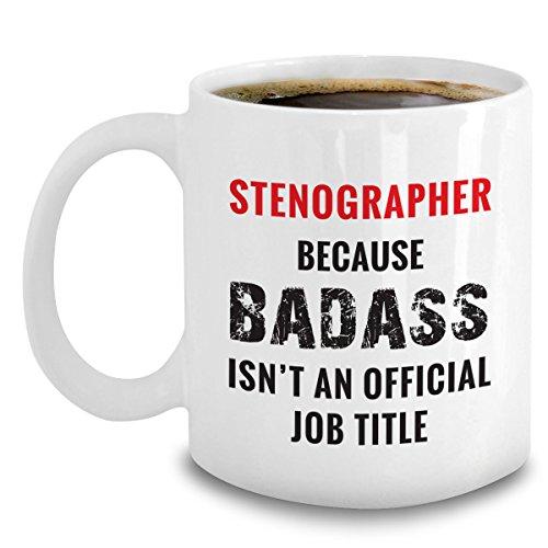 Stenographer Mug - Stenograph Accessories - Shorthand Gifts For Stenographist - Stenography Gifts (Stenograph Accessories)