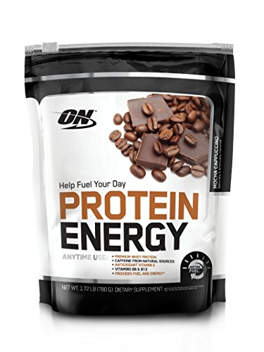 OPTIMUM NUTRITION On Protein Energy Supplement, Mocha Cappuccino, 1.72 Pound (Protein Powder Without Caffeine)