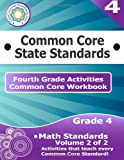 Fourth Grade Common Core Workbook: Math Activities, CoreCommonStandards.com, 1499183909