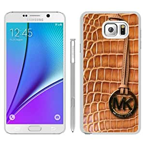 Newest M-K Samsung Galaxy Note 5 Case ,Unique Michael Kors 139 White Samsung Note 5 Cover Case Fashion And Durable Designed Phone Case