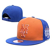 Fashion Basic MVP Adjustable Hat Orange Adjustable Cap New York Mets