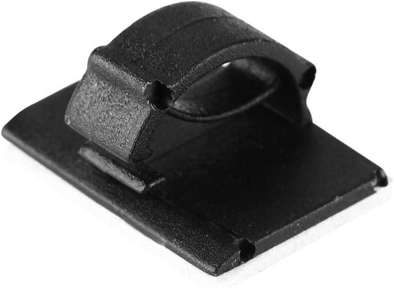 L Black 40 Pcs Auto Cord Fixed Clips Car GPS Data Cable Light Cord Decorative Wire Fixing Organizer Auto Cord Fixed Clips