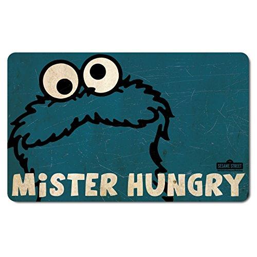 Cookie Monster - Krümelmonster Mister Hungry - Sesamstrasse - Frühstücksbrettchen - Lizenziertes Originaldesign - LOGOSHIRT