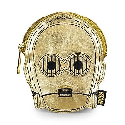 Coin Bag - Star Wars - C3PO Metallic Gold New Licensed stcb0004