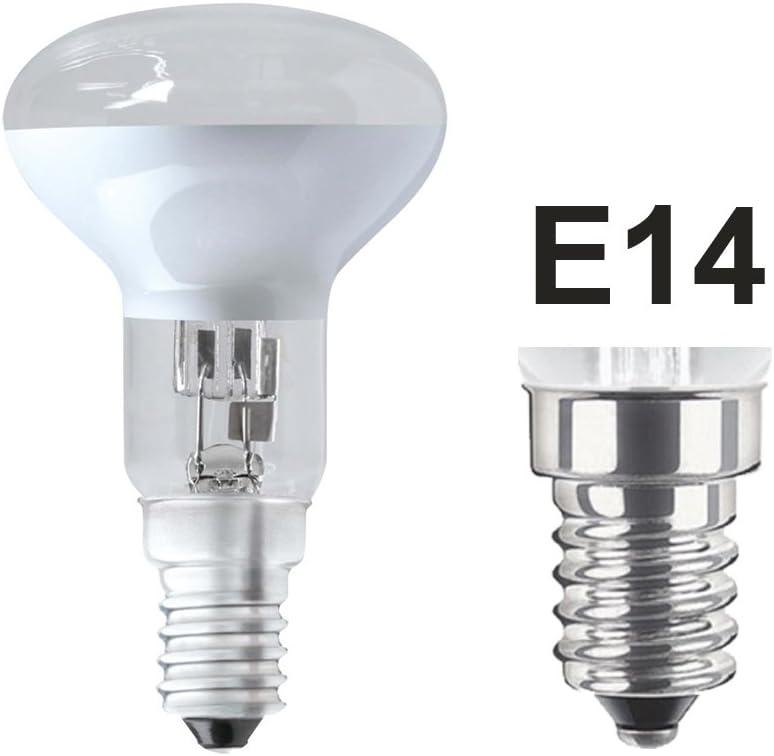 Eveready S11883 30W Eveready Lighting Pack de 4 20W SES halog/ène E14 R39 Dimmable clair r/éflecteur Lustre//lampe Lava Ampoules SES E14 240v