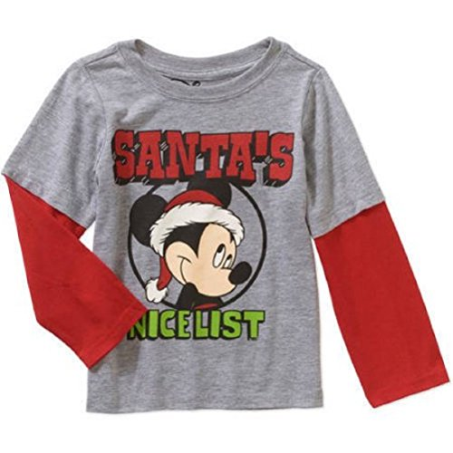 Disney Mickey Mouse Christmas T-shirt for Toddlers