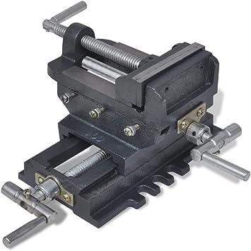 vidaXL Tornillo de Banco 78 mm Deslizante Función Manual ...