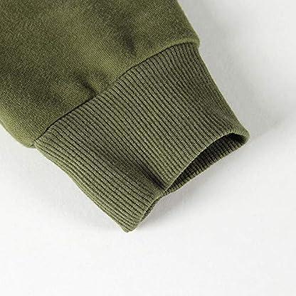 Smile Fish Women Teddy Fleece Quarter-Zip Sweatshirts Long Sleeve Lightweight Pullover Top 6