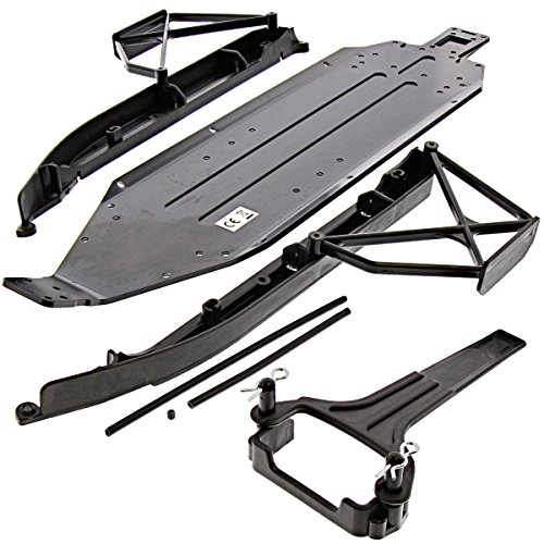 Kyosho 1/10 Ultima SC6 2WD ReadySet Chassis Side Guards Support Battery Holder
