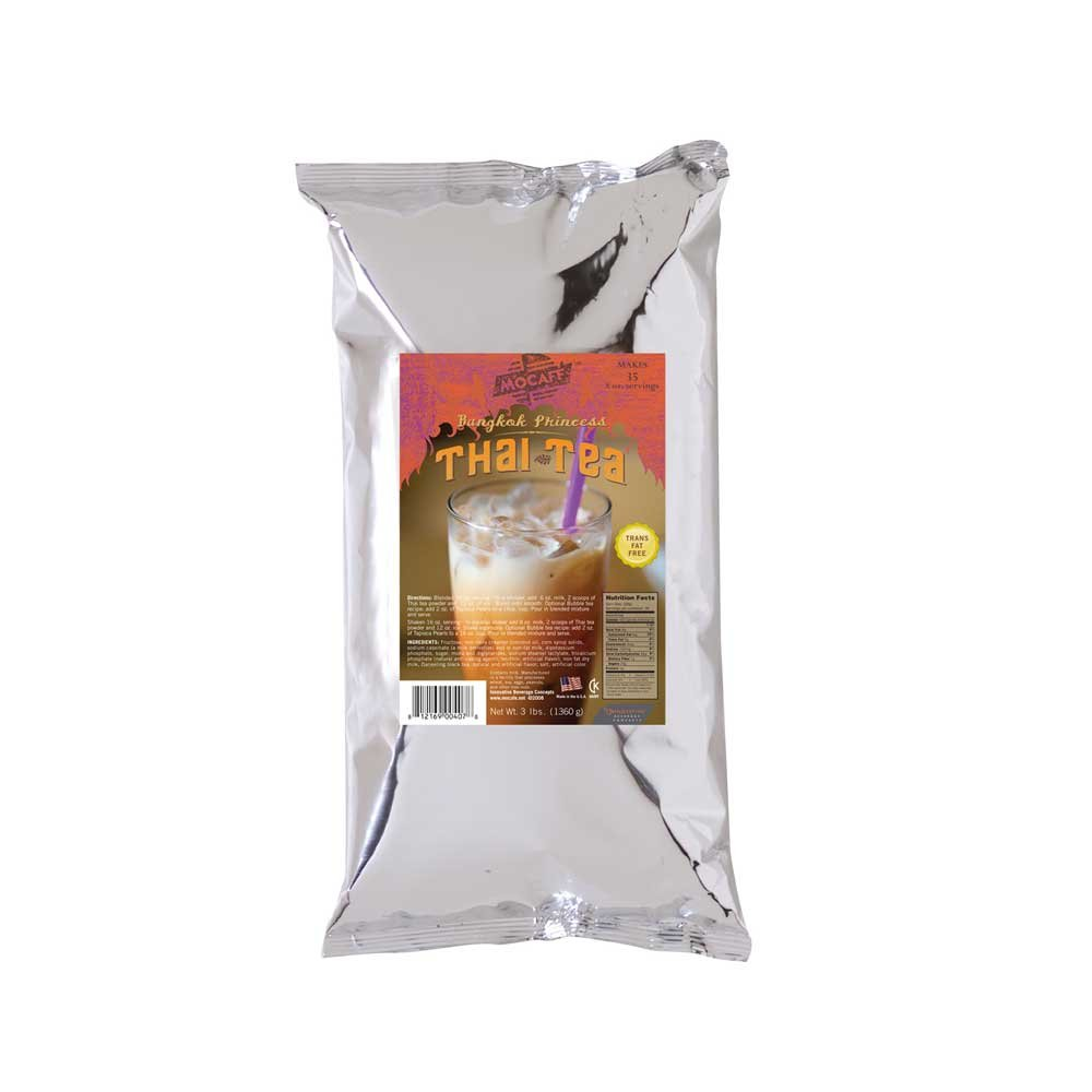 Mocafe Thai Tea Latte, 3 Pound Can -- 4 per case. by Mocafe